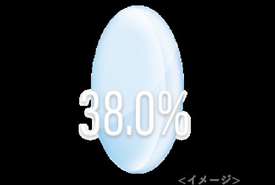 低含水率(38%)